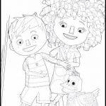 Desenhos para colorir do Zack & Quack