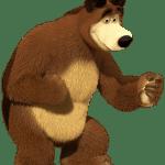 Imagens de Personagens Masha e o Urso PNG