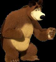 Masha e o Urso - Imagem Urso