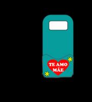 Molde Porta Carregador de celular dia das Mães 03