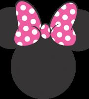 Turma do Mickey - Cabeça Minnie Rosa