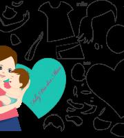 Molde de Dia das Mães 2 para Eva, Feltro, e Artesanato