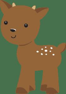 Branca de Neve Cut - Animais da Floresta