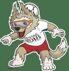 Copa do Mundo Rússia 2018 - Mascote Zabivaka