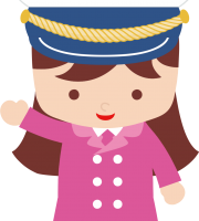 Marinheira Cute - Capitã