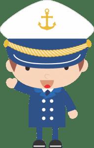 Marinheiro Cute - Capitão