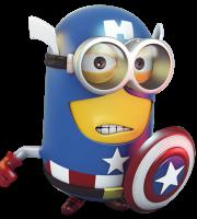 Meu Malvado Favorito - Minions Capitão América