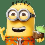 Meu Malvado Favorito – Minions Hawai PNG