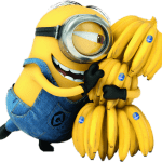 Meu Malvado Favorito – Minions e as Bananas PNG