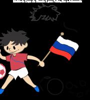 Molde de Copa de Mundo 8 para Eva, Feltro e Artesanato