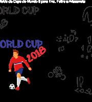 Molde de Copa do Mundo 9 para Eva,Feltro ei Artesanato