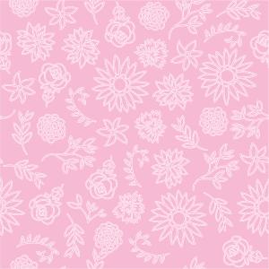Moranguinho - Papel Digital Flores