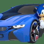 Sonic – Novo Sonic Carro 2 PNG