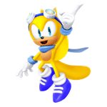 Sonic – Ray the Flying Squirrel PNG