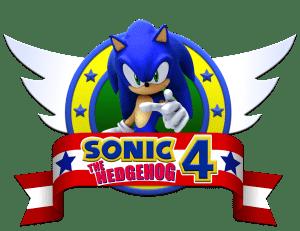 Sonic - Sonic 4 The Hedgehog Logo 2