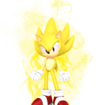 Sonic – Sonic Amarelo 11 PNG