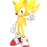 Sonic – Sonic Amarelo 15 PNG
