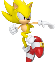 Sonic - Sonic Amarelo 16