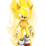 Sonic – Sonic Amarelo 2 PNG