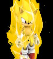 Sonic - Sonic Amarelo 2