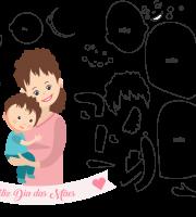Molde de dia das Mães 34 para Eva, Feltro e Artesanato