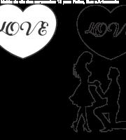 Molde de dia dos namorados para Eva, Feltro e Artesanato