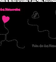 Molde de dia dos Namorados 14 para Eva, Feltro e Artesanato
