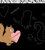 Molde de Dia dos Namorados 20 para Eva, Feltro e Artesanato