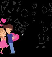Molde de dia dos namorados 1 para Eva, Feltro, e Artesanato