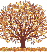 Árvores - Árvore Folhas Amarelas 2