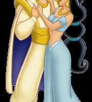 Aladdin - Alladin e Jasmine 5