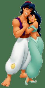 Aladdin - Alladin e Jasmine 6