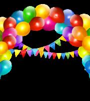 Arquivos Molde Para Eva Balões Arco De Balão Colorido 2