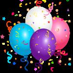 Balões – Conjunto de Balões Coloridos 10 PNG