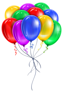 Balões - Conjunto de Balões Coloridos 11