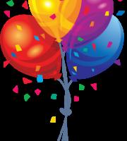 Balões - Conjunto de Balões Coloridos 12