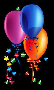 Balões - Conjunto de Balões Coloridos 13