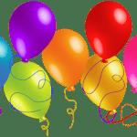 Balões – Conjunto de Balões Coloridos 15 PNG