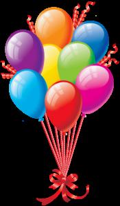 Balões - Conjunto de Balões Coloridos 17