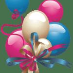 Balões – Conjunto de Balões Coloridos 18 PNG