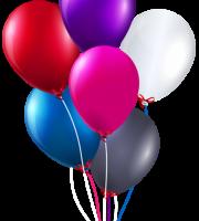 Balões - Conjunto de Balões Coloridos 2