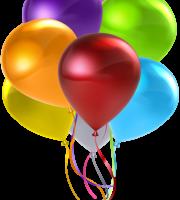 Balões - Conjunto de Balões Coloridos 3