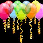 Balões – Conjunto de Balões Coloridos 4 PNG