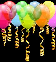 Balões - Conjunto de Balões Coloridos 4