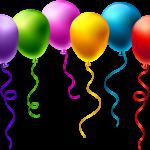 Balões – Conjunto de Balões Coloridos 6 PNG