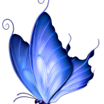 Borboletas – Borboleta Azul PNG