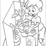 Desenhos para colorir A Família do Futuro