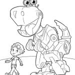 Desenhos para colorir do Rusty Rivets
