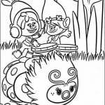 Desenhos para colorir dos Trolls