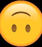 Emoji Cabeça para Baixo